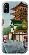 A Stroll In Old Kyoto IPhone Case