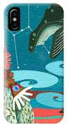 A Study For Whale Dreamer IPhone X Case