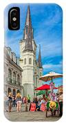 A Sunny Afternoon In Jackson Square IPhone Case