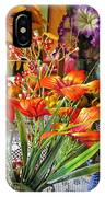 A Table Of Flowers IPhone Case