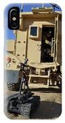 A Talon Mark 2 Bomb Disposal Robot IPhone Case