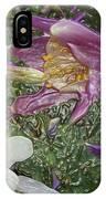 a taste of dew i do and PCC  garden too     GARDEN IN SPRING MAJOR IPhone Case