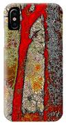 A Touch Of Autumn Abstract V IPhone Case