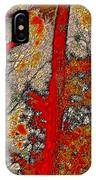 A Touch Of Autumn Abstract Vi IPhone Case