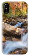 A Touch Of Autumn At Skinny Dip Falls IPhone Case