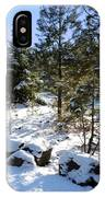 A Touch Of Snow IPhone Case