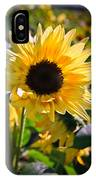 A Touch Of Sunflower IPhone Case
