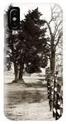 A Tree Grows In Gettysburg IPhone Case