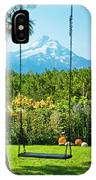 A Tree Swing Is Seen On A Summer Day IPhone Case