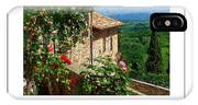 A Tuscan View Poster IPhone Case