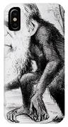 A Venerable Orang Outang IPhone Case