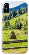 A View From The Carpathians IPhone Case