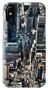 A View From The Empire State Building IPhone Case