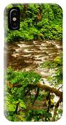 A View Of Eagle Creek IPhone Case