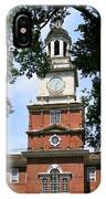 A View Of Independence Hall IPhone Case