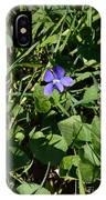 A Violet IPhone Case