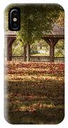 A Walk In The Park IPhone X Case