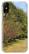 A Walk Through The Orchard IPhone Case