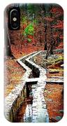 A Walk Through The Woods IPhone Case