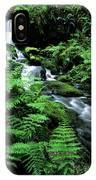A Waterfall In Redwood National Park IPhone Case