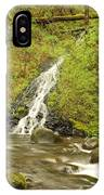 A Waterfall Into Oneida Creek IPhone Case