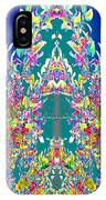 A Welcome Art Colorful Full Of Energy   The Digital Graphics Have Been Derived From Nature Photograp IPhone Case
