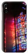 A Window In A Church IPhone Case