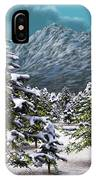 A Winter Scene... IPhone Case