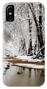 A Winter Walk  IPhone Case