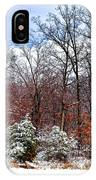 A Winters Scene IPhone Case