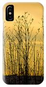 A Winter's Silhouette IPhone Case