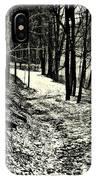 A Winter's Trail IPhone Case