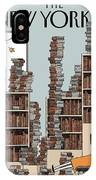Fall Library IPhone Case