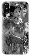 A Young Warrior - B W IPhone Case