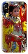 A Young Warrior IPhone Case