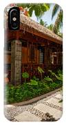 Aaramu Spa Hideaway In Tropical Garden. Maldives IPhone Case