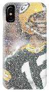 Aaron Rodgers Quotes Mosaic IPhone Case