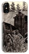 Abandon Montana Mine IPhone Case
