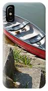 Abandoned Boat At The Quay IPhone Case