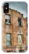 Abandoned Brick Building IPhone Case