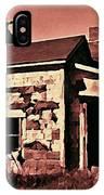 Abandoned Cape Breton House IPhone Case