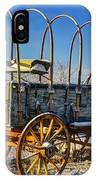 Abandoned Covered Wagon IPhone Case
