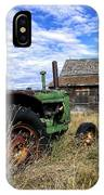 Abandoned Farm Saskatchewan Canada IPhone Case