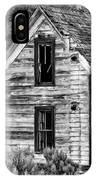 Abandoned Farmhouse - Alstown - Washington - May 2013 IPhone Case