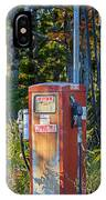 Abandoned Gas Pump IPhone Case