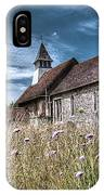Abandoned Grave In The Churchyard IPhone Case