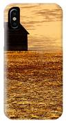 Abandoned Homestead Series Golden Sunset IPhone Case