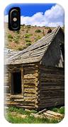 Abandoned Log Cabin IPhone X Case