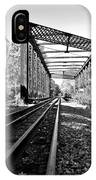 Abandoned Tracks IPhone Case