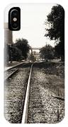 Abandoned Train Station IPhone Case